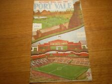 More details for port vale  v  birmingham city  1954/5  ~  april 16th *****free post*****  *rare*