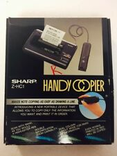 SHARP Z-HC1 HANDY COPIER - Handheld Portable Small Size Copy Machine Compact