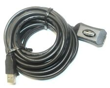 Monoprice USB 2.0 Active Extension Cable Repeater Wire Cord for Desktop Laptop