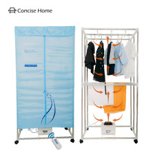Concise Home Portable Electric Clothes Dryer stainless steel remote control