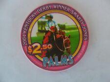 New listing $2.50 Palms 2004 Kentucky Derby Winner Smarty Jones Horse Racing Chip