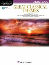 Great Classical Themes Alto Sax Instrumental Play-Along Book and Audio 000292729