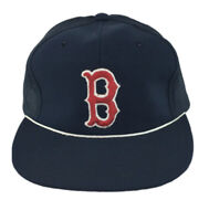 Vintage Boston Red Sox MLB Adult Snapback Classic Trucker Hat Cap