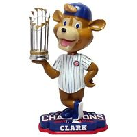 Clark the Cub Chicago Cubs 2016 World Series Bobblehead MLB