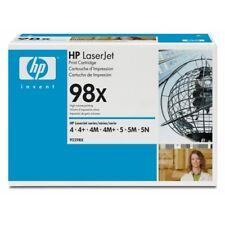 HP 92298X - TONER NERO ORIGINALE LJ 4  LJ 5 ALTA CAPACITA' - NEW FATTURABILE