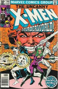 Uncanny X Men #146 Very Good 4.0 Vs. Murderworld Marvel Comics Wolverine Low Grd