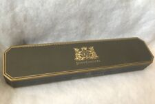 Authentic Juicy Couture brown And gold Hard bracelet box Pink Lining Empty