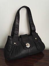 Clarks, black, soft leather handbag, great condition