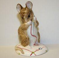 Vintage Beswick Mrs No More Twist Beatrix Potter Mouse Figure 1992 Royal Albert