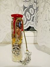 WICCA PAGAN PORTABLE  WITCH BOTTLE+SILVER FOR PROTECTION BLESSED ON MY ALTAR