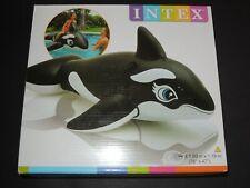 Schwimmtier Reittier WAL von INTEX Ride-On Inflatable Pool Toy 193cm