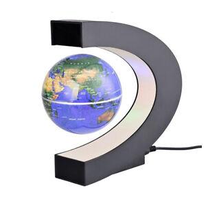 C-Form LED-Weltkarte Dekor Home Electronic Magnetic Levitation Floating Globe