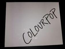 Colourpop White Empty Magnetic Eyeshadow Palette LE Authentic