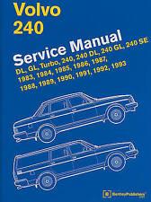 Volvo 240 Service Manual: 1983, 1984, 1985, 1986, 1987, 1988, 1989, 1990, 1991,