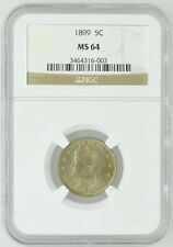 1899 US 5C Five Cent Liberty Nickel NGC MS 64 Certified Coin Currency