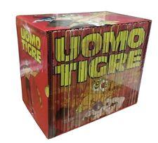 29 Dvd Box Cofanetto + Poster L' UOMO TIGRE I + II PRIMO+SECONDO serie completa