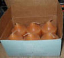 Partylite 1 box GINGER PUMPKIN  Votives  NIB  RARE
