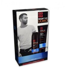 Cofanetto Deborah bioetyc Uomo con doccia Shampoo 250ml Deodorante 72h 150ml