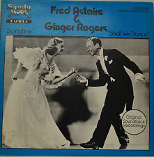 "OST - SWINGTIME - SHALL WE DANCE - FRED ASTAIRE GINGER ROGERS 12"" LP (S941)"