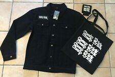 Cheap Trick Denim Jacket Size M, Tote Bag, Koozie & Buttons All New Never Used