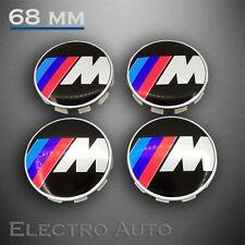 4x BMW M Sport 68mm Naben Deckel Reifen Rad Kappen Zier Blenden Felgen Abdeckung