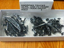 Tichy Train Group #3027 (HO Scale)Freight Car Trucks One-Piece -- Andrews 10 Pai