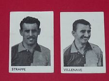 RARE FOOTBALL 1958-1959 IMAGES STRAPPE VILLENAVE LE HAVRE HAC PANINI AGEDUCATIFS
