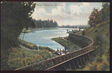 Postcard BALLARAT AUSTRALIA  Water Reserve & Aquaduct view 1905?