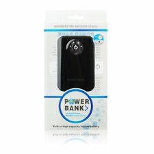 BATTERIA ESTERNA PORTATILE RICARICABILE POWER BANK 8400mah MINI MICRO USB IPHONE