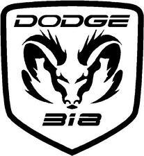 INSTOCK White DODGE Ram TRIBAL RAMS HEAD 318 DECAL STICKER logo