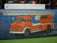 MERCEDES BENZ L 322 CAMION POMPIERS échelle 1/18 SCHUCO 00155 camion miniature