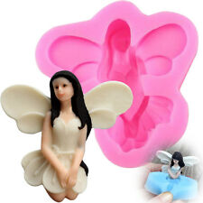 3D Fairy Angel Elf Silicone Fondant Mold Chocolate Cake Icing Sugarcraft Mould