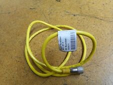 "Turck U2411 KB 3T-2 Cord Set 3 Pin Female Straight 47"" Cable Used"