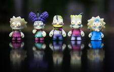 Kidrobot Simpsons Treehouse of Horror GID Zombie Family Homer Maggie Bart Marge