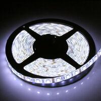 5M 5050 SMD 300LEDs Cool White DC 12V Waterproof LED Strip Flexible Light Lamp