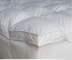 SOFT TOUCH LUXURY HOTEL QUALITY MICROFIBER 4 INCH MATTRESS TOPPER OR SHEET SIZE
