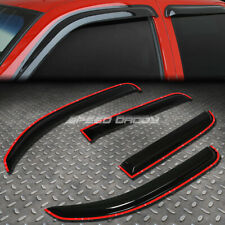 FOR 06-11 CHEVY HHR 5DR SMOKE TINT WINDOW VISOR/WIND DEFLECTOR VENT RAIN GUARD