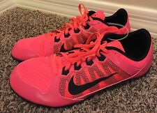 New Nike Racing Rival Md Track Running Multi Use Spike Shoes Size 13 Pink