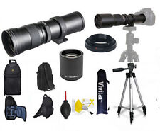 420MM 1600MM  ZOOM LENS + BACKPACK + TRIPOD FOR CANON EOS REBEL T3 T3I T5 T5I
