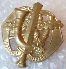 Badge- Royal Netherlands Army Limburgse Jagers Regiment Cap Badge (BRASS)