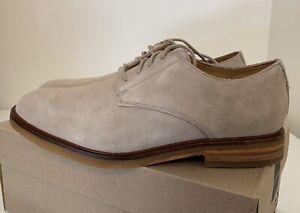 Clark's Clarkdale Moon Sand Suede Oxfords Mens Sz 7/ Women's Sz 8.5 Dress Shoes