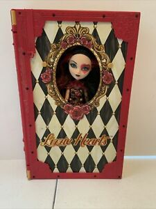 Mattel 2014 Lizzie Hearts Ever After High Book Playset Doll Accessories