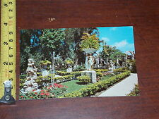 POSTCARD VINTAGE OLD RARE KAPOK TREE INN CLEARWATER FLORIDA #3 EAST GARDEN
