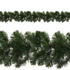 Sala De Navidad Decoración guirnaldas artificiales 9ft 180 Puntas-Liso