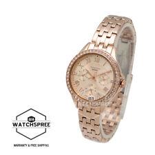 Casio Sheen Swarovski Crystals Multi-hand Watch SHE3062PG-9A