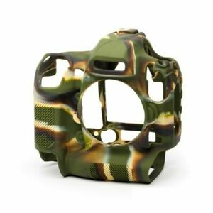 EasyCover Silicone Skin Soft Case Cover Protector Nikon D6 in camouflage, BNIP
