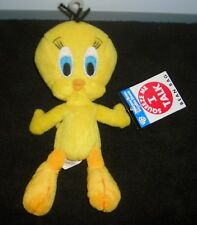 "Warner Brothers Studio Store Tweety Bird 7"" Plush Beanie"
