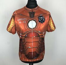 Crossroad PX-16 Robot Suit Cycling Jersey Men's Size XXL Life on Track Full Zip