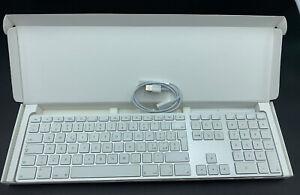 Apple Keyboard A1243 USB Layout QWERTY _ ITALIANO