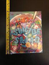 Suicide Squad movie swag Cereal Box puzzle promo w/temp tattoos Imax
